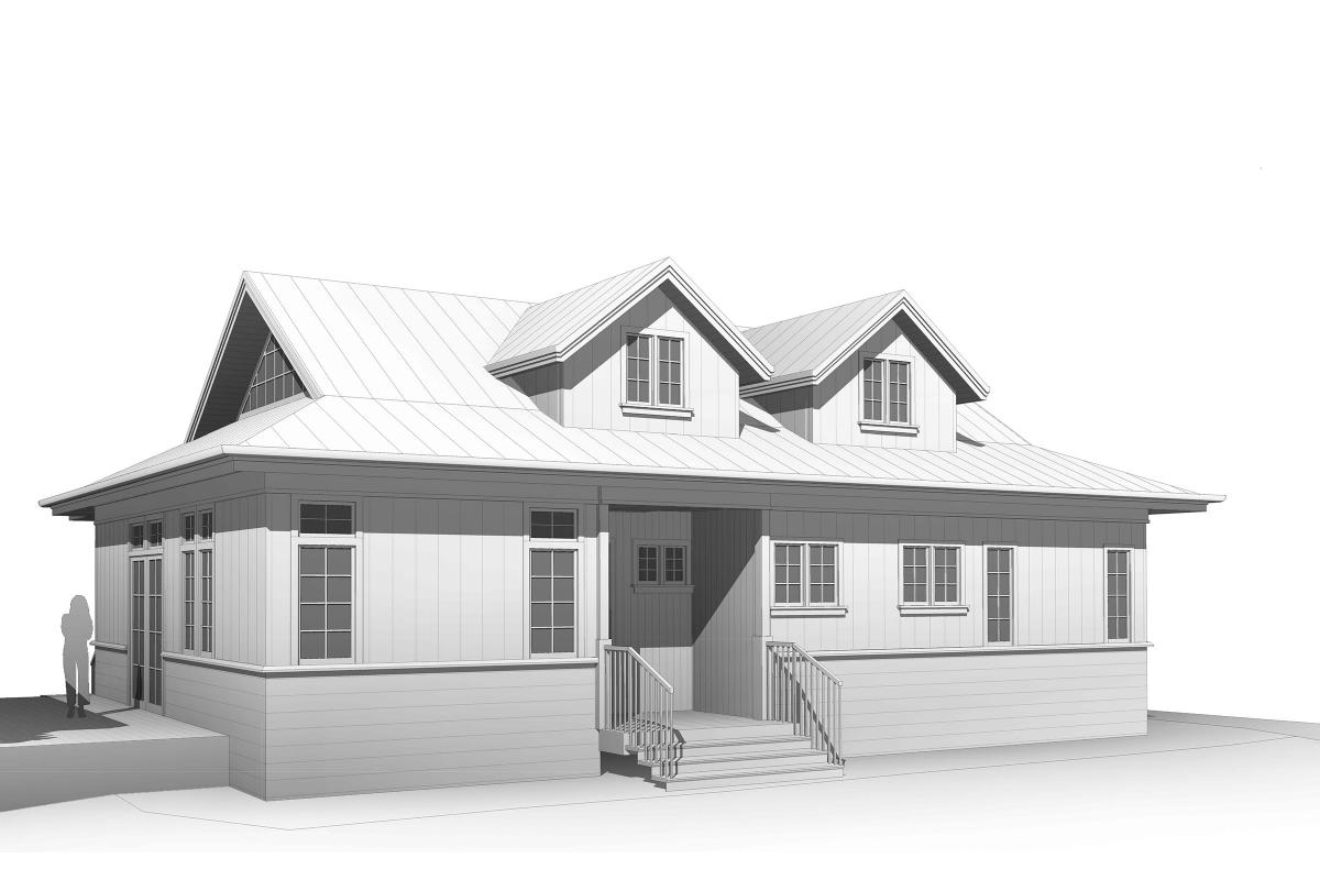 Wagstaff + Rogers Architects Modern Farmhouse Mill Valley Eric Rogers Brock Wagstaff