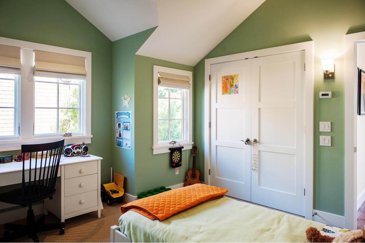 Wagstaff + Rogers Architects Austin San Anselmo Craftsman Style Bungalow Kid's Room