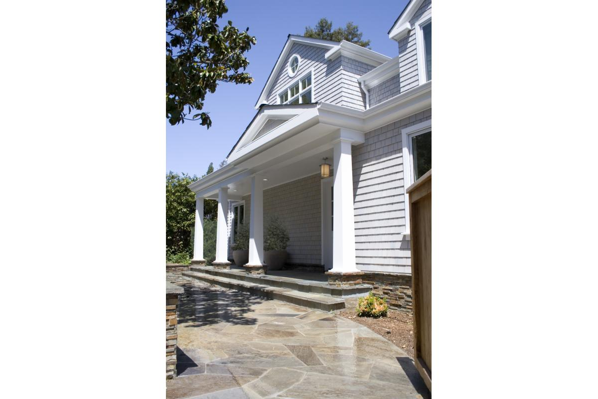 Wagstaff + Rogers Architects Larkspur Pepper Shingle Craftsman