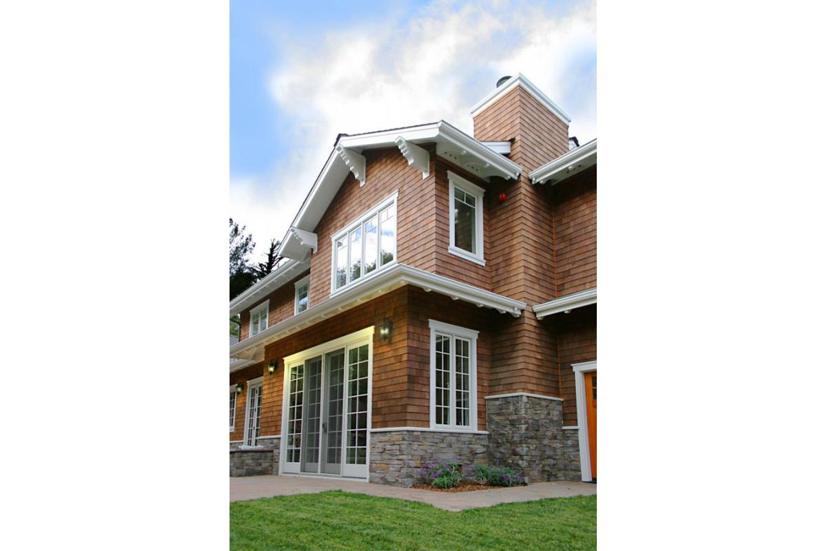 Wagstaff + Rogers Architects Rancheria Kentfield Craftsman Style Bungalow