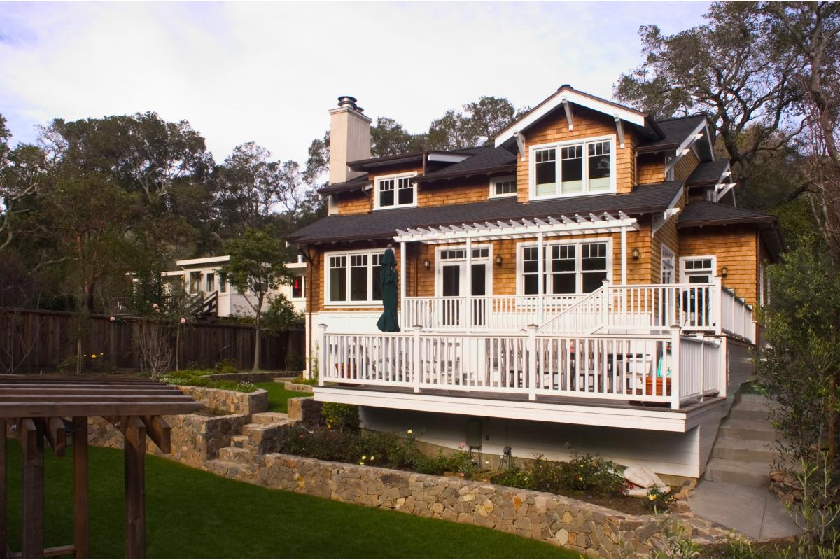 Wagstaff + Rogers Architects Willow Craftsman Style Bungalow Family