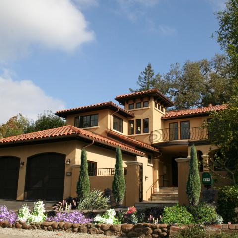 Wagstaff + Rogers Architects Spanish Revival Kentfield Eric Rogers Brock Wagstaff